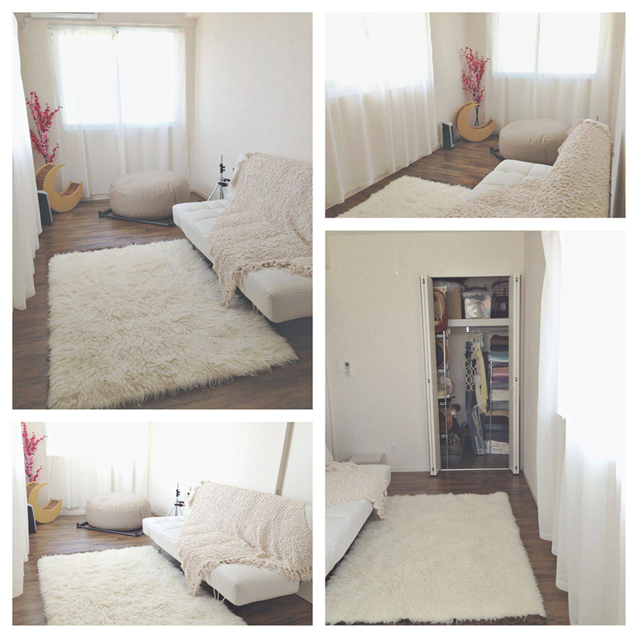 Designing For Super Small Spaces 5 Micro Apartments also Living Room Wall Units besides Fatboy Island in addition New Studio Space Simply Ania Okinawa Newborn Photographer likewise Twin headboard footboard bed frame kit 39. on bean bag space